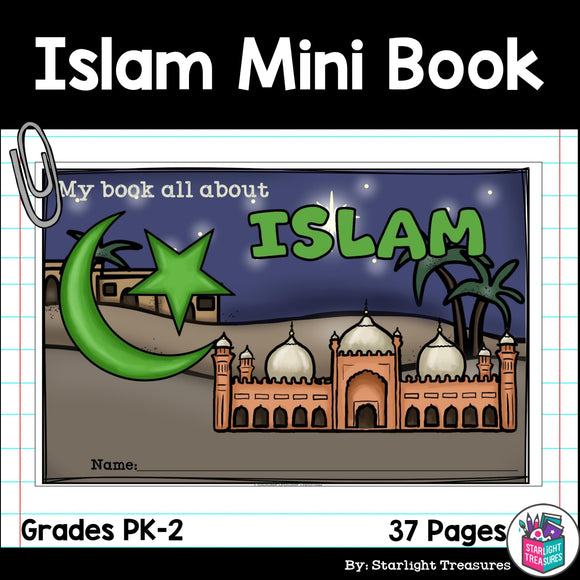 Islam Mini Book for Early Readers: World Religions