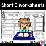 Short I Worksheets and Activities for Early Readers