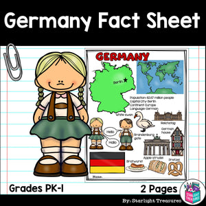 Germany Fact Sheet