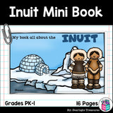 Inuit Tribe Mini Book for Early Readers