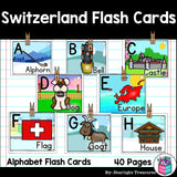 Switzerland Flash Cards