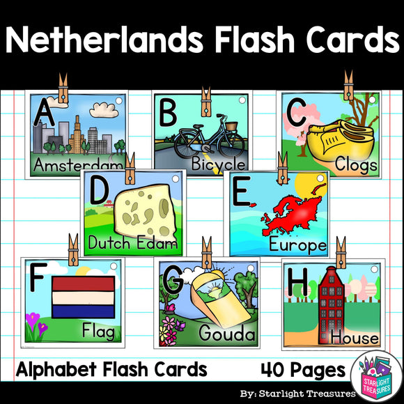 Netherlands Flash Cards