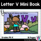 Alphabet Letter of the Week: The Letter V Mini Book