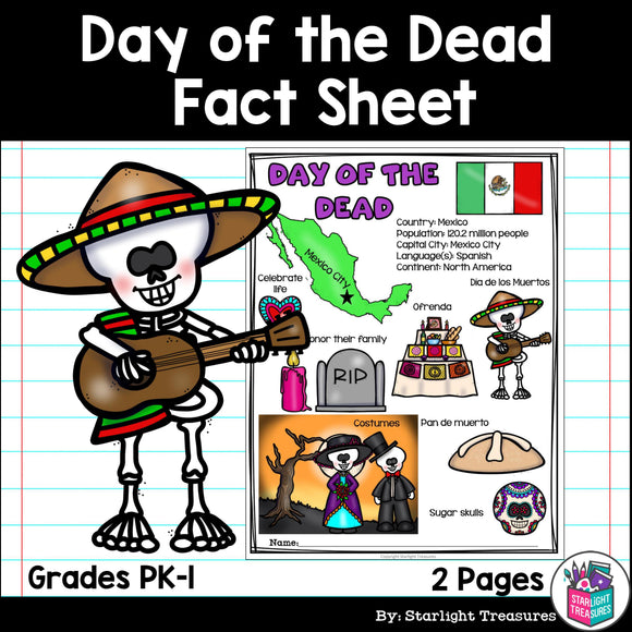 Day of the Dead Fact Sheet for Early Readers