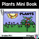 Plants Mini Book for Early Readers: Photosynthesis