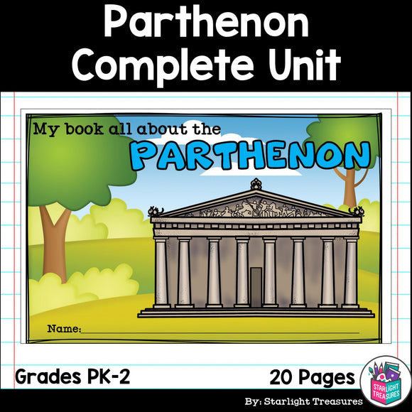 Parthenon Complete Unit for Early Learners - World Landmarks
