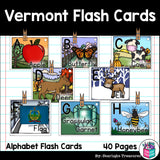 Vermont Flash Cards