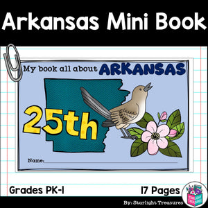 Arkansas Mini Book for Early Readers