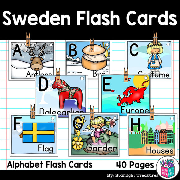 Sweden Flash Cards