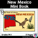 New Mexico Mini Book for Early Readers - A State Study
