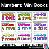 Learn Our Numbers: Numbers Mini Book for Early Readers