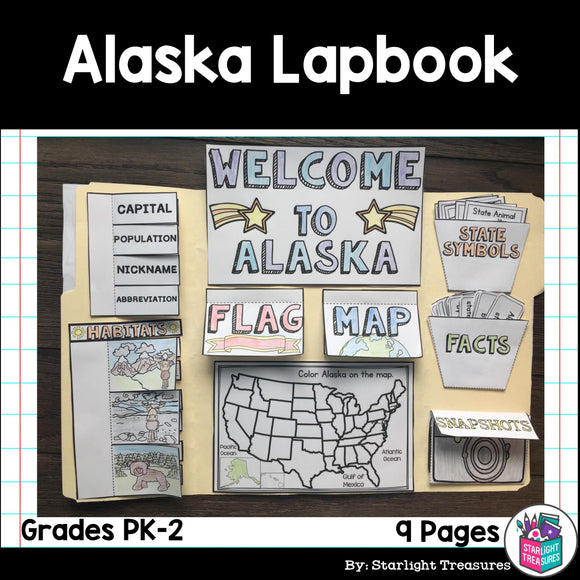 Alaska Lapbook for Early Readers