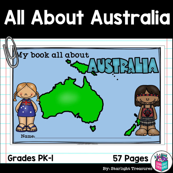 All About Australia (Continent) Complete Unit