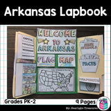 Arkansas Lapbook for Early Learners - A State Study