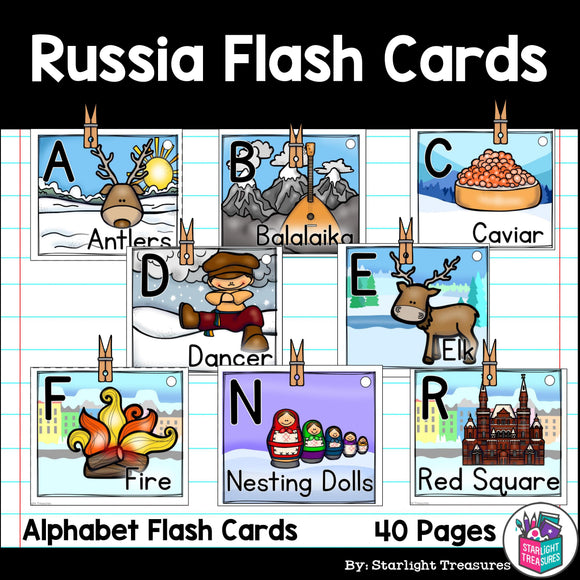 Russia Flash Cards