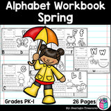 Worksheets for A-Z - Spring Theme