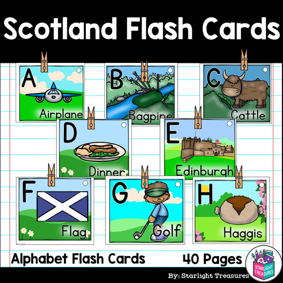 Scotland Flash Cards