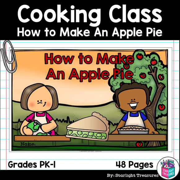 How to Make An Apple Pie for Early Readers