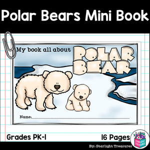 Polar Bears Mini Book for Early Readers