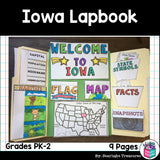 Iowa Lapbook for Early Learners - A State Study
