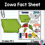 Iowa Fact Sheet
