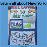 New York Lapbook for Early Learners - A State Study