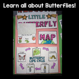 Butterflies Lapbook for Early Learners
