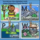 Colombia Flash Cards