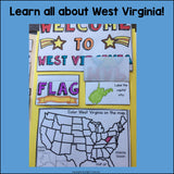 West Virginia Lapbook for Early Learners - A State Study