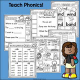 Ending Blends Worksheets and Activities for Early Readers