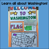 Washington Lapbook for Early Learners - A State Study