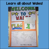 Wales Lapbook for Early Learners - A Country Study