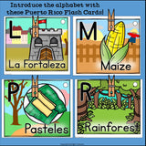 Puerto Rico Flash Cards