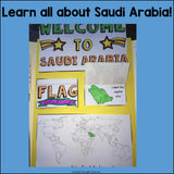 Saudi Arabia Lapbook for Early Learners - A Country Study