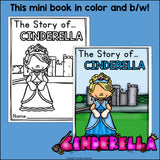 Cinderella Mini Book for Early Readers