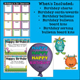 Birthdays in the Classroom Bundle