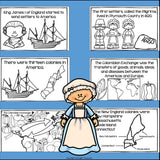 Colonial Times Mini Book for Early Reader