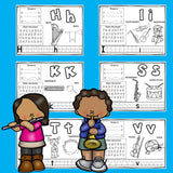 Worksheets A-Z Music Theme