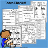 Short U Worksheets and Activities for Early Readers