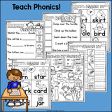 R Controlled Vowels Worksheets and Activities for Early Readers