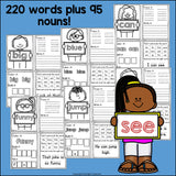 Dolch Sight Words Mini Books for Early Readers
