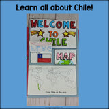 Chile Lapbook for Early Learners - A Country Study