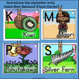 New Zealand Flash Cards