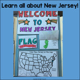 New Jersey Lapbook for Early Learners - A State Study