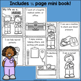 Nurse Mini Book for Early Readers
