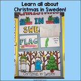 Christmas in Sweden Lapbook for Early Learners