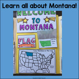 Montana Lapbook for Early Learners - A State Study
