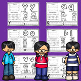 Worksheets A-Z Asian Pacific American Heritage Month