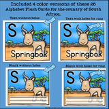 South Africa Flash Cards