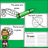 Colors of the Week: Green Mini Book